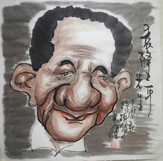 袁隆平(徐铁军画).jpg