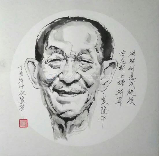 袁隆平(张华画).jpg
